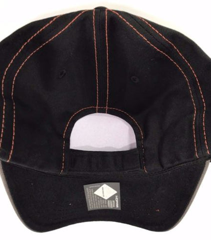 Mopar Hat- Dodge Hemi Logo Gray with Black Mesh (Back)