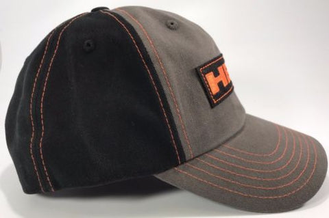 Image of Mopar Hat- Dodge Hemi Logo Gray with Black Mesh (Side)