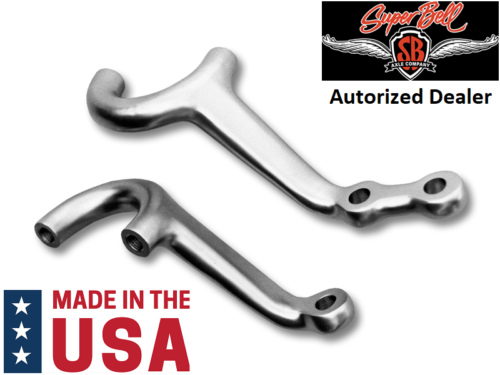 Super Bell Forged Dropped Steering Arm Set for 1935-1948 Ford Car-Live Fast Supply Company
