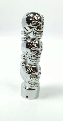 Image of Chrome Metal Skull Shift Knob - Live Fast Supply Company