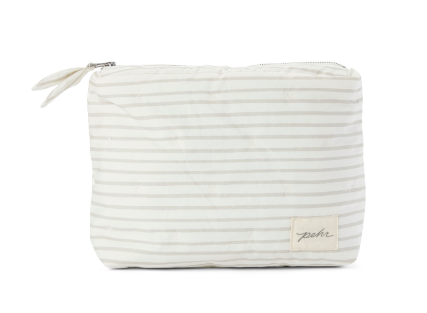 STRIPE TRAVEL POUCH