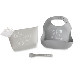 GREY FEEDING SET