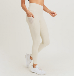 Essential Leggings - Natural