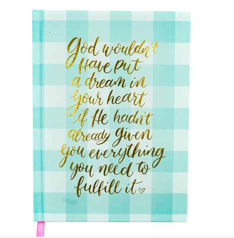 God and Dreams Notebook