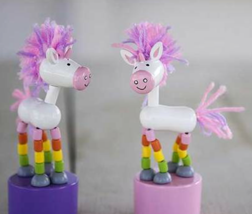 UNICORN PUSH PUPPET