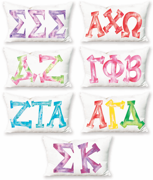 SORORITY LETTER PILLOW