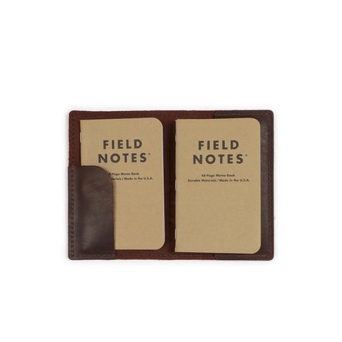 LEATHER FIELD NOTEBOOK