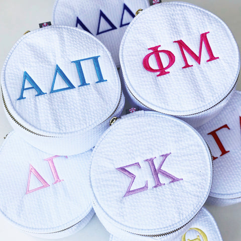 SORORITY COSMETIC CASE
