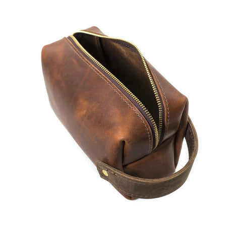 LEATHER POUCH SADDLE