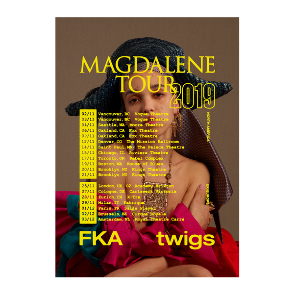 Magdalene North America edition Tour Poster