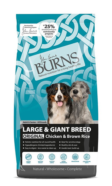 Burns Large Breed Chicken & Rice