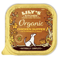 Lily's Kitchen Organic Chicken Supper For Dogs 150g