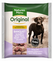 Natures Menu Original Raw Nuggets Banquet Dinner 1kg