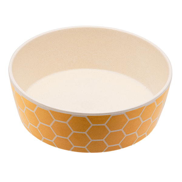 Beco Classic Bamboo Bowl Honeycomb