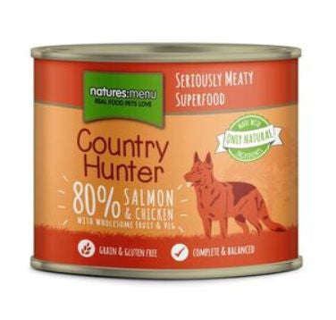 Naturesmenu Country Hunter Salmon and Chicken 600g