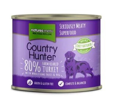 Naturesmenu Country Hunter Turkey 600g