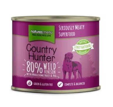Naturesmenu Country Hunter Venison 600g