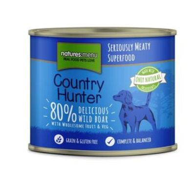 Naturesmenu Country Hunter Wild Boar 600g