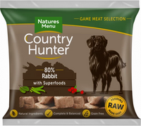 Country Hunter Raw Superfood Nuggets Full-Flavoured Rabbit 1kg