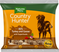 Country Hunter Raw Superfood Nuggets Turkey & Goose 1kg