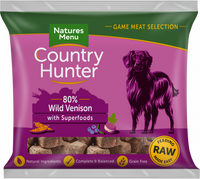 Country Hunter Raw Superfood Nuggets Wild Venison 1kg