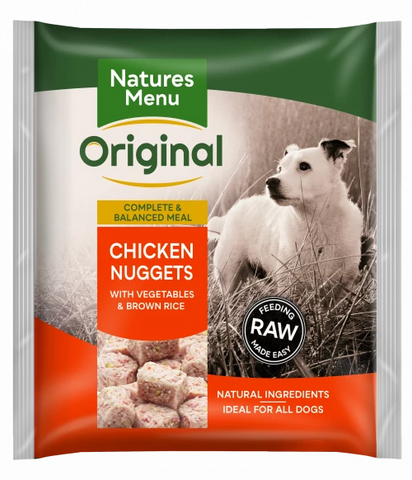Natures Menu Original Raw Nuggets Chicken 1kg