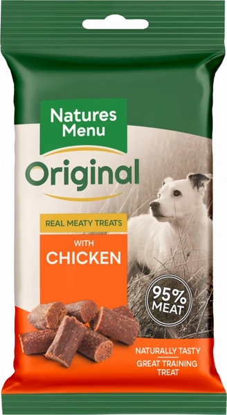 Natures Menu Real Meaty Treats with Chicken