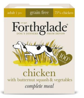 Forthglade Grain Free Chicken with Butternut Squash & Veg Complete 395g