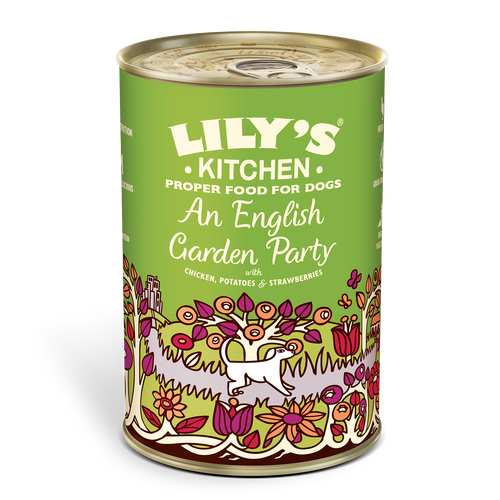Lilys Kitchen An English Garden Party for Dogs 400g