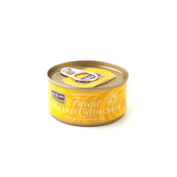 Fish4Cats Finest Tuna Fillet With Cheese 70g