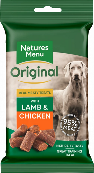 Natures Menu Real Meaty Treats with Lamb & Chicken
