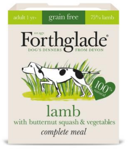 Forthglade Grain Free Lamb with Butternut Squash & Veg Complete 395g