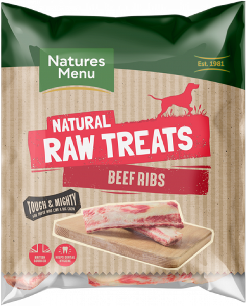 Natures Menu Beef Ribs 2pk