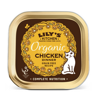 Lily's Kitchen Organic Chicken Dinner for Cats 85g