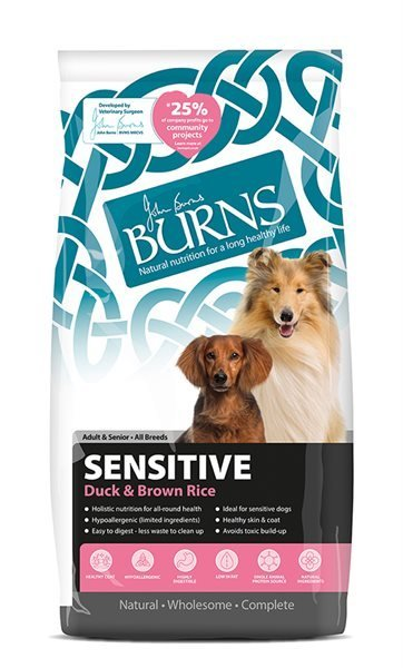 Burns Sensitive Duck & Rice