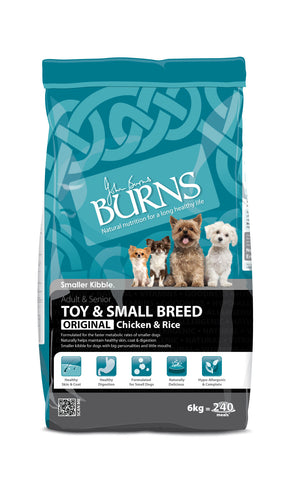 Burns Toy & Small Breed Chicken & Rice