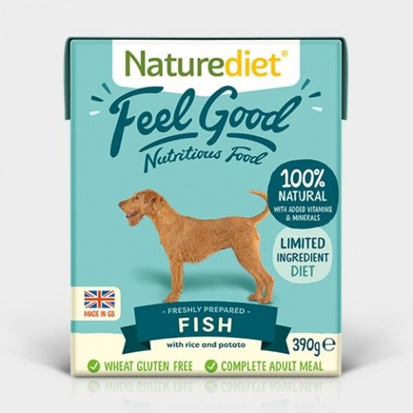 Naturediet Feel Good Fish 390g x 18