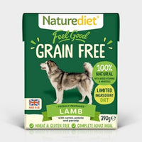 Naturediet Feel Good Grain Free Lamb 390g x 18