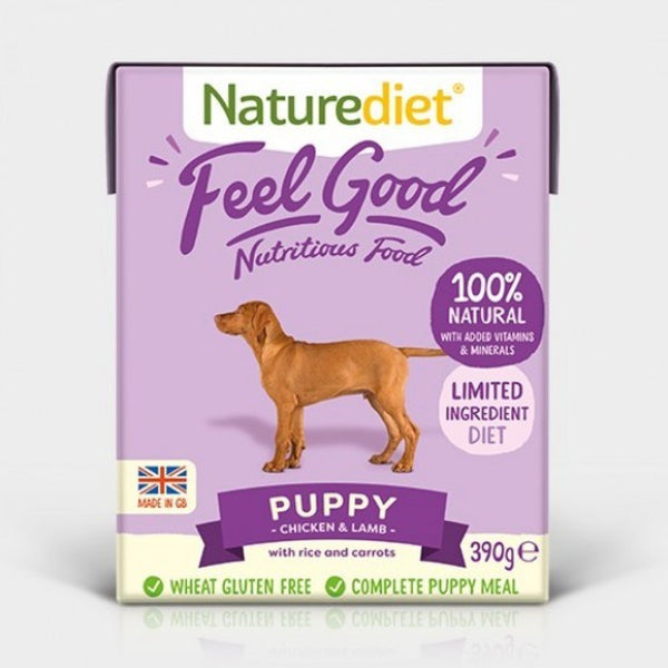 Naturediet Feel Good Puppy 390g x 18