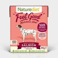 Naturediet Feel Good Salmon 390g x 18