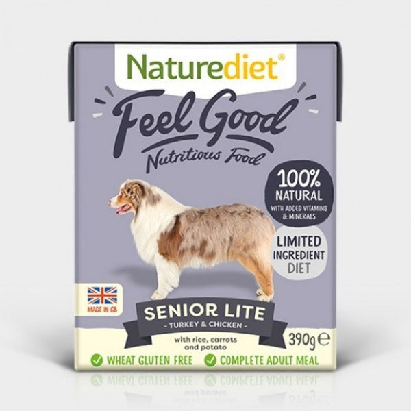 Naturediet Feel Good Senior Lite 390g x 18