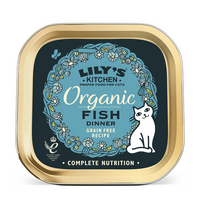 Lily's Kitchen Organic Fish Dinner for Cats 85g