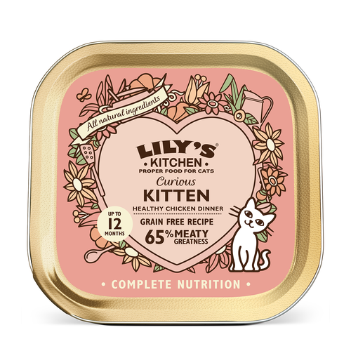 Lily's Kitchen Curious Kitten Dinner 85g