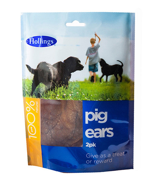 Hollings Pig Ears 2pk
