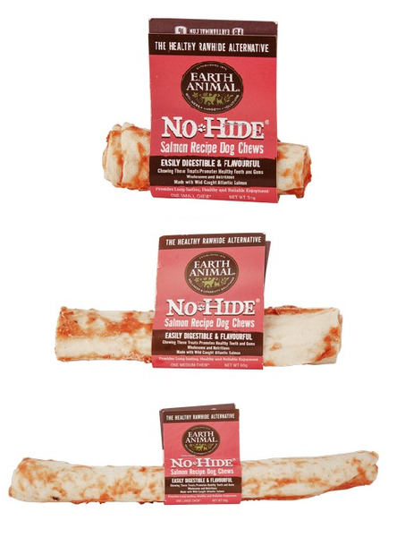 Earth Animal No Hide Chew Salmon