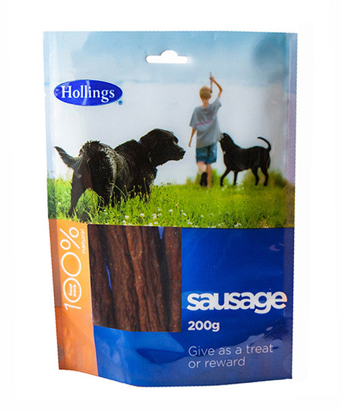 Hollings Sausages 200g