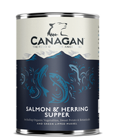 Canagan Salmon & Herring Supper 400g