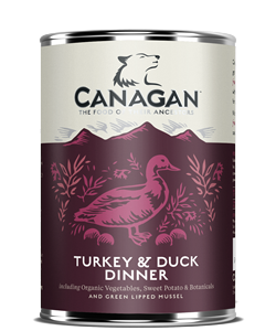 Canagan Turkey & Duck Dinner 400g