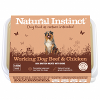 Natural Instinct Working Dog Beef & Chicken