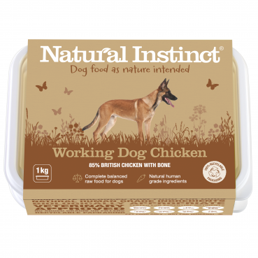 Natural Instinct Working Dog Chicken